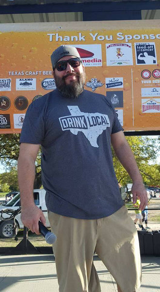 Drink Local Texas - Short Sleeve T-Shirt