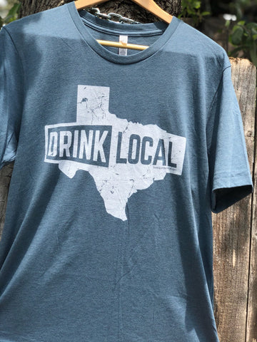 Drink Local Texas - Slate