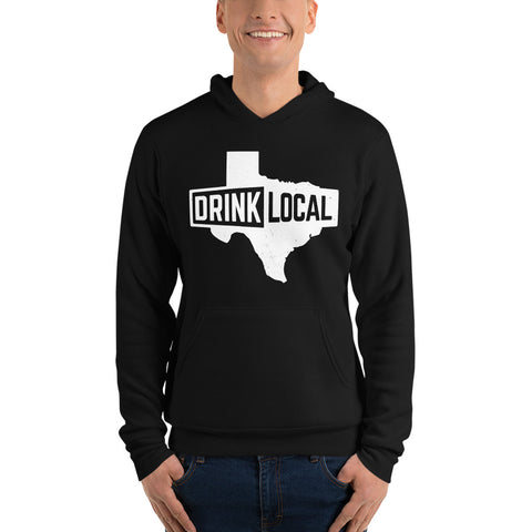 Drink Local Texas Unisex Hoodie
