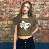 Ladies' Drink Local Crop Top