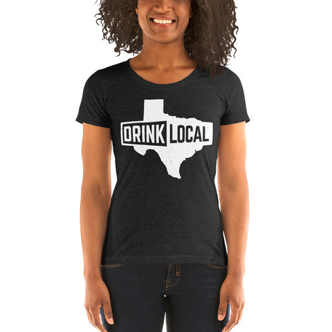 Drink Local Ladies' short sleeve t-shirt