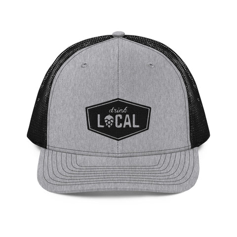 Flat Bill Trucker Cap