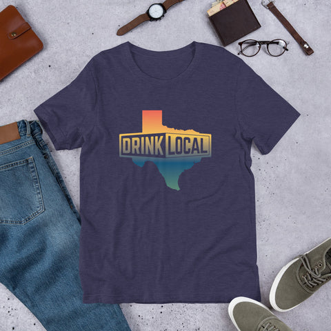Colored Drink Local Short-Sleeve Unisex T-Shirt