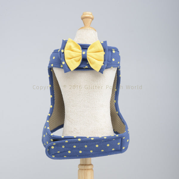 Naughty N Blue DOG & CAT HARNESS - GLITTER POOCH DOG & CAT HARNESS
