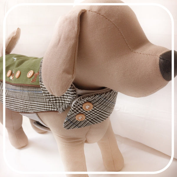 HOUNDS DOG & CAT HARNESS - GLITTER POOCH DOG & CAT HARNESS