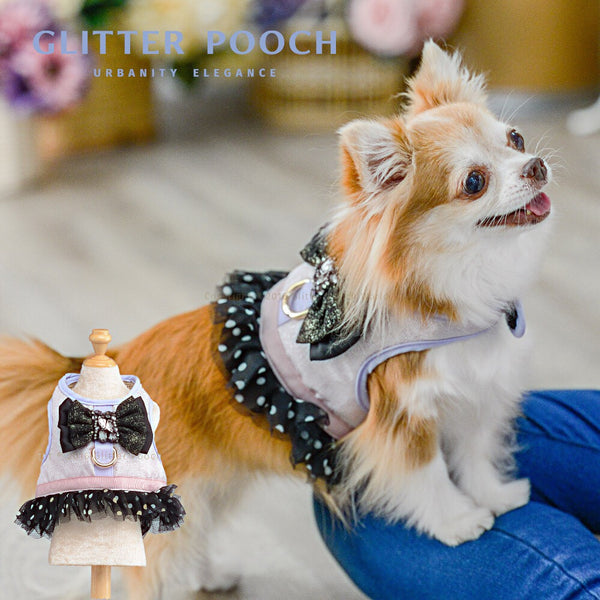 Black Diamond DOG & CAT HARNESS - GLITTER POOCH DOG & CAT HARNESS