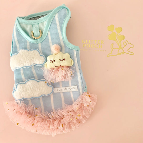 Mrs.Cloud DOG & CAT HARNESS - GLITTER POOCH DOG & CAT HARNESS