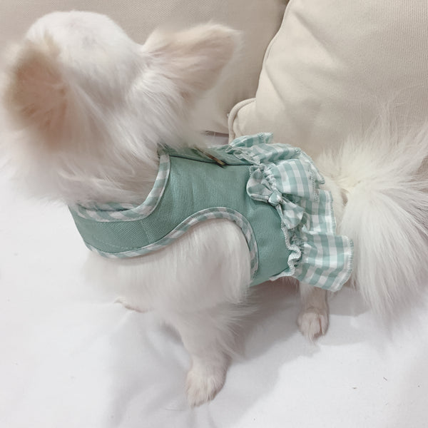 Simply baby canvas (GIRL) DOG & CAT HARNESS - GLITTER POOCH DOG & CAT HARNESS