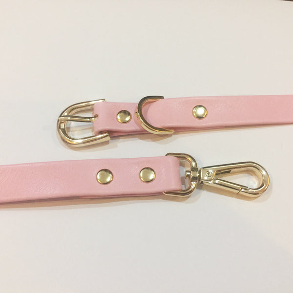 Collar + Leash Set - GLITTER POOCH DOG & CAT HARNESS