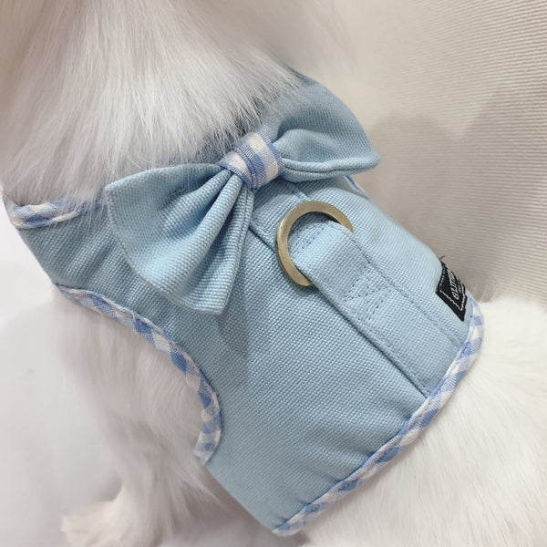 Simply baby canvas (BOY) DOG & CAT HARNESS - GLITTER POOCH DOG & CAT HARNESS