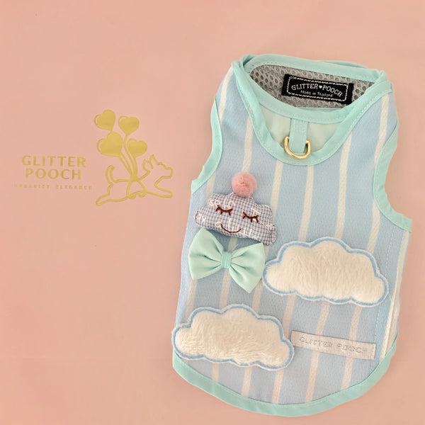 Mr.Cloud DOG & CAT HARNESS - GLITTER POOCH DOG & CAT HARNESS