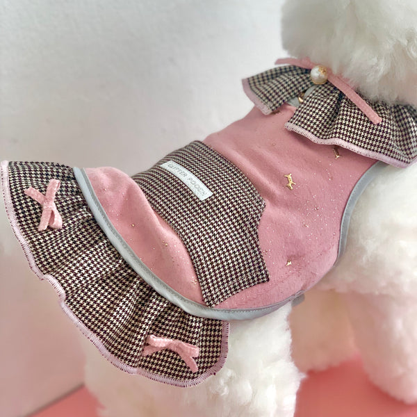 GLITTERING PAW DOG & CAT HARNESS - GLITTER POOCH DOG & CAT HARNESS