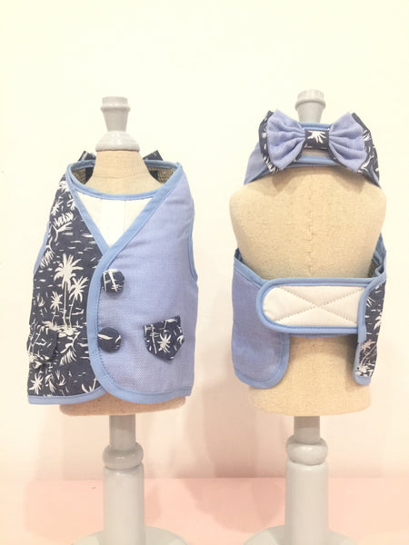 Mr. Beach Boy DOG & CAT HARNESS - GLITTER POOCH DOG & CAT HARNESS
