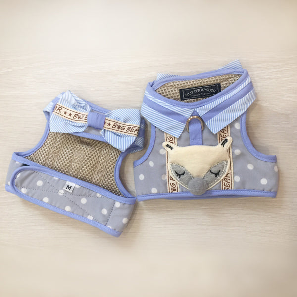 Foxy Boy - Dog&Cat Vest Harness - GLITTER POOCH DOG & CAT HARNESS