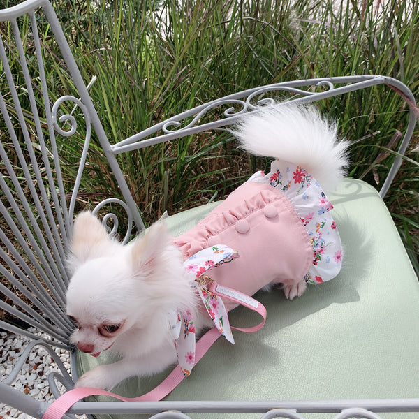Blooming Tail DOG & CAT HARNESS - GLITTER POOCH DOG & CAT HARNESS