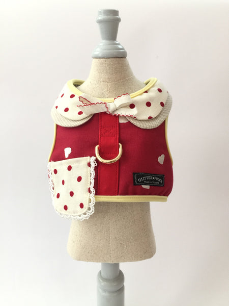 Merry Merry - Dog&Cat Vest Harness - GLITTER POOCH DOG & CAT HARNESS