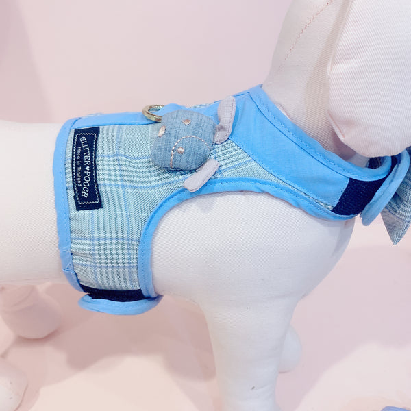 PUPPY LOVE - DOG AND CAT HARNESS SET - GLITTER POOCH DOG & CAT HARNESS