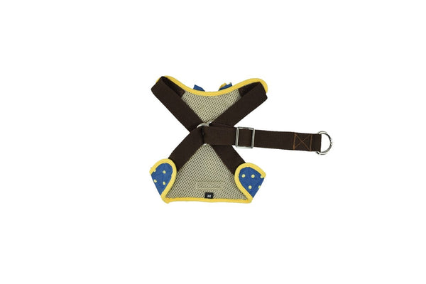 STEP-IN - Swedish Bow Boy DOG & CAT HARNESS - GLITTER POOCH DOG & CAT HARNESS