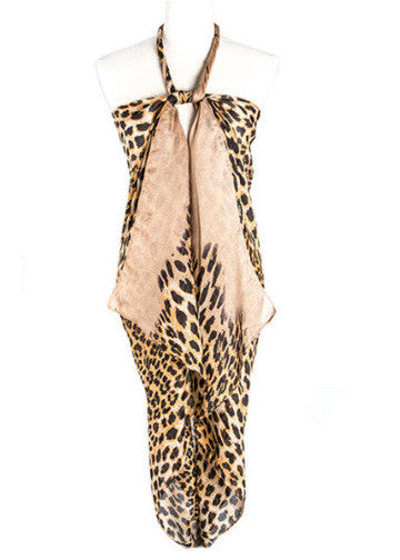 Leopard Print Scarf, Multiple Colors