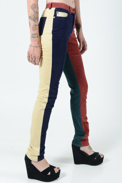 Kerol D Multi Color Corduroy Skinnies