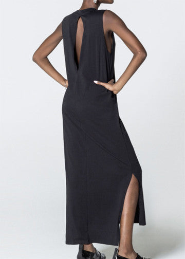 Cheap Monday Black Knit Twine Maxi Dress