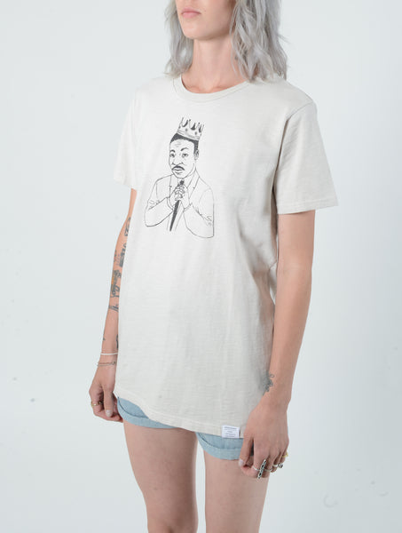 Dr. Martin Luther king Jr. Sand Crew Neck Tee