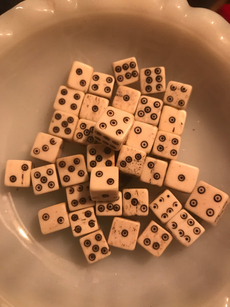 Bone Dice- 2 for $7