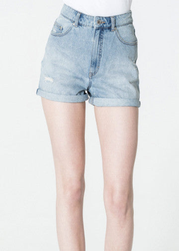 Cheap Monday Denim Donna Fans Shorts