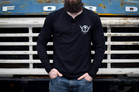 CLTAC  Long Sleeve Henley
