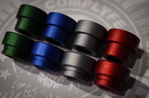 Anodized Wide Bore Drip Tip