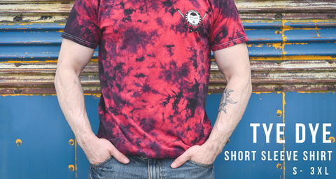 Tye Dye Short Sleeve Shirt