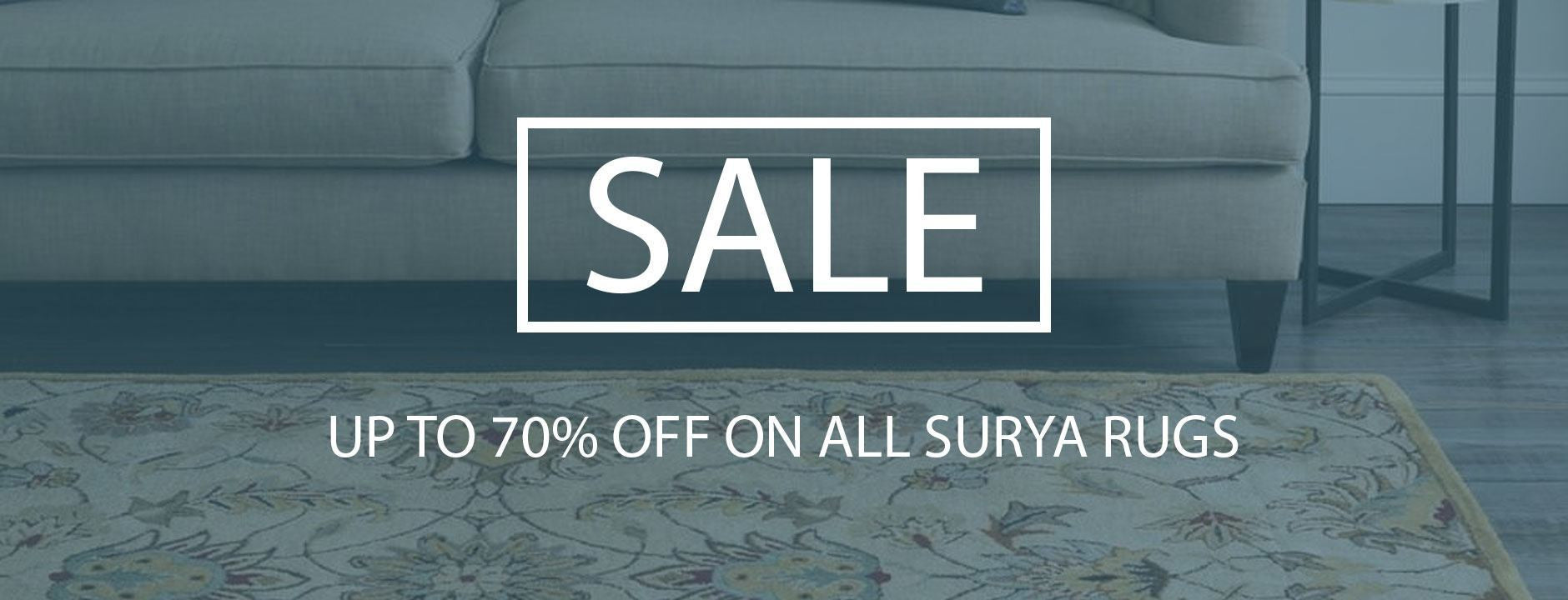 Sale on Surya Rugs