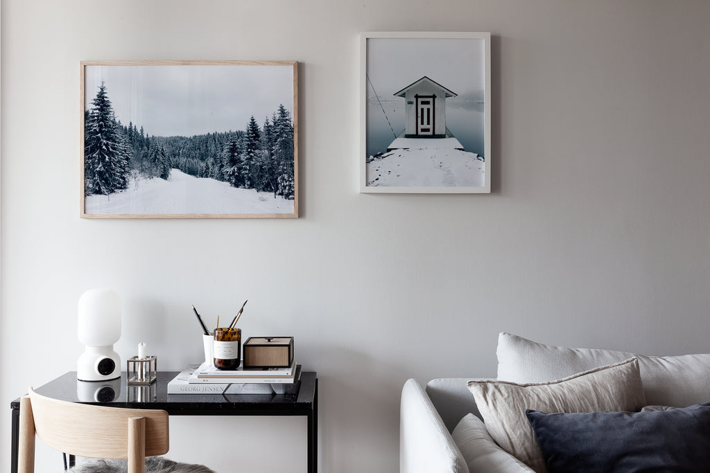 Snowy House poster - cocolapine