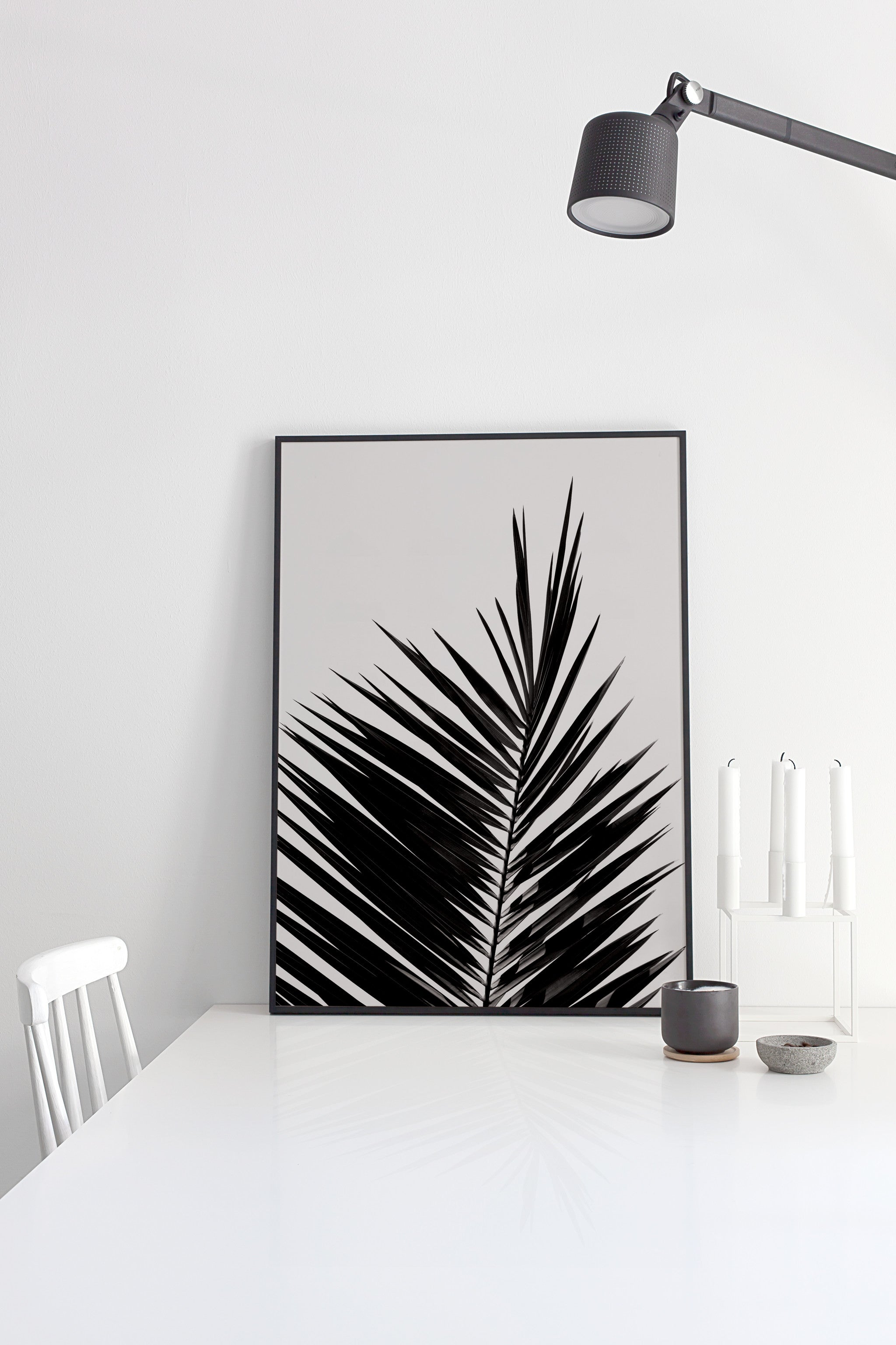 Palm Leaf poster - cocolapine