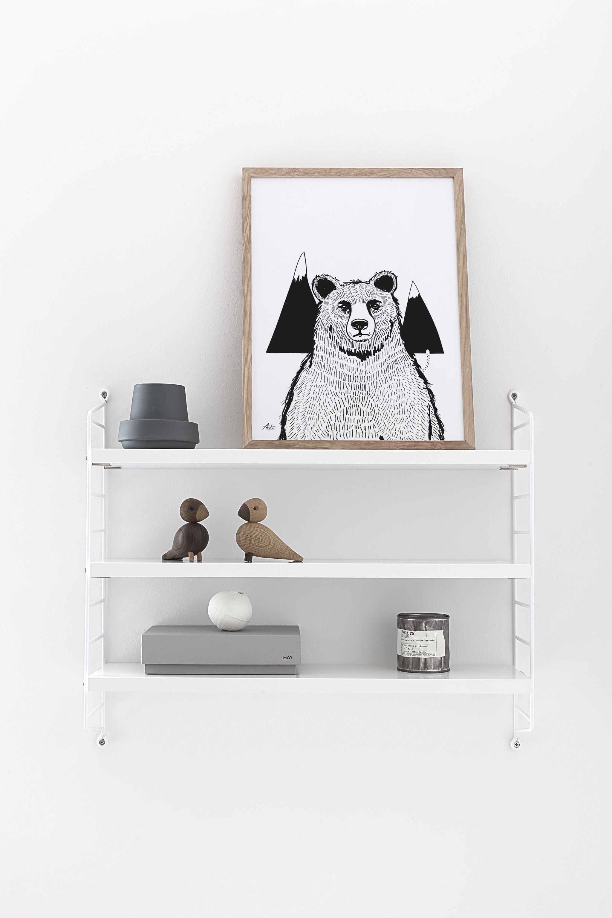 A Bear poster - cocolapine
