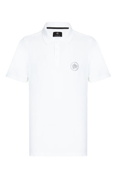 CITY PIQUE POLO SHIRT - WHITE