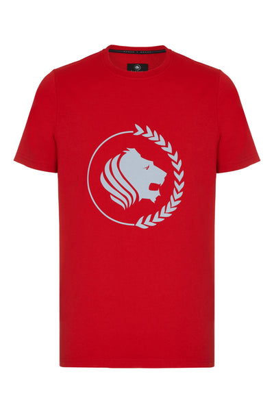 EASTEND SHORT SLEEVE T-SHIRT - RED