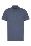 COUNTRY JERSEY MARL POLO SHIRT - DARK NAVY