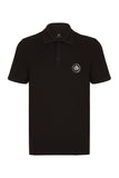 CITY PIQUE POLO SHIRT - BLACK