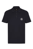 CITY PIQUE POLO SHIRT - NAVY