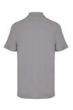 CITY PIQUE POLO SHIRT - SILVER GREY