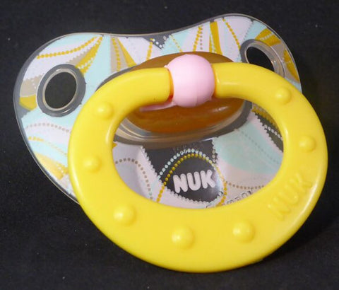"<div style=""display: none;"">9716</div>  NUK Pacifier, Dummy, Soother, modified with nuk 4 or 5 teat"