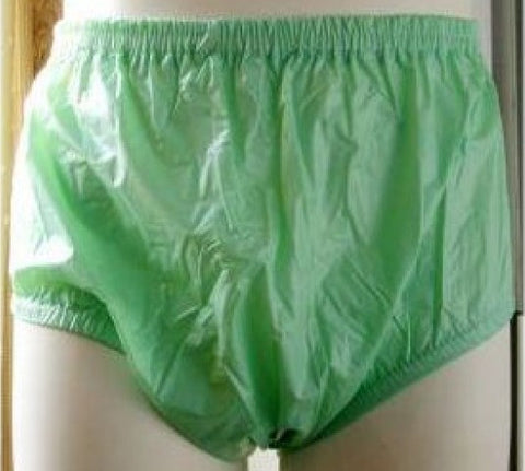 "<div style=""display: none;"">4650</div> plastic pants PVC green"