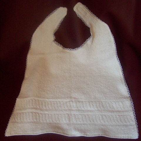 "<div style=""display: none;"">3730</div> large toweling bib"