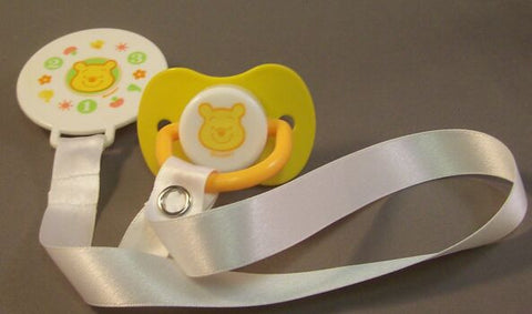 "<div style=""display: none;"">8566</div> dummy Pacifier & Clip disney winnie NUK"