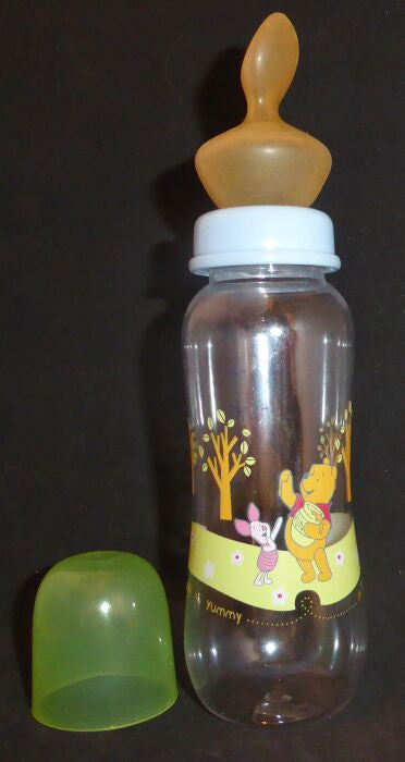 "<div style=""display: none;"">6550</div>  winnie & piglet bottle with large teat (nipple)"