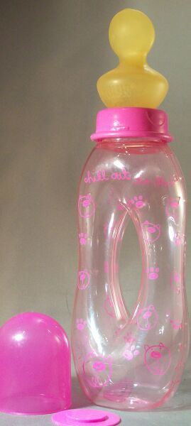 "<div style=""display: none;"">6828</div> Chill out bears pink easy to hold bottle"