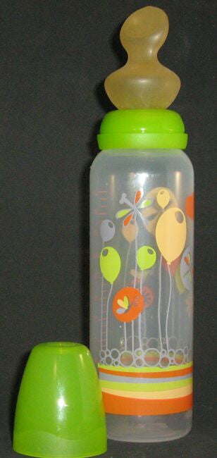 "<div style=""display: none;"">6145</div> green top & ballons, large size 12oz bottle with large nuk teat"