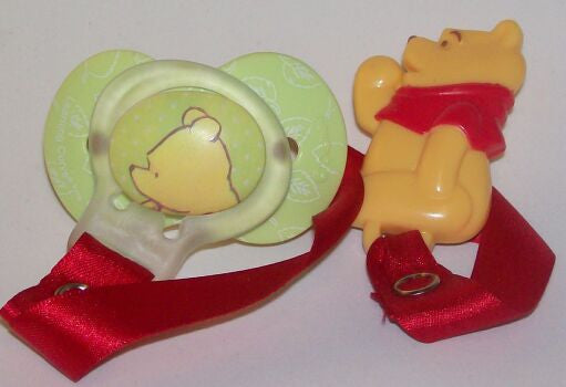 "<div style=""display: none;"">8582</div> 3D Clip disney winnie & dummy Pacifier NUK"