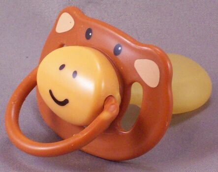 "<div style=""display: none;"">8696</div> cheeky monkey pacifier dummy NUK teat"